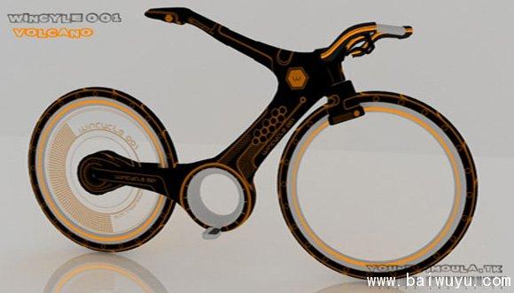 未来的自行车图片