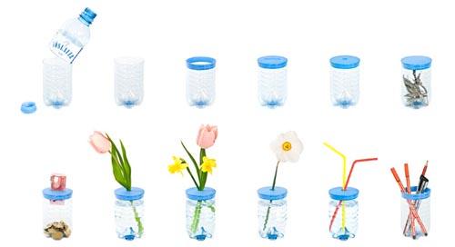废旧易拉罐做花瓶步骤