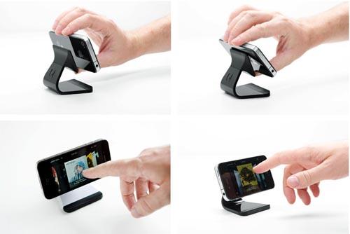 采用微吸技术的手机汽车行车支架