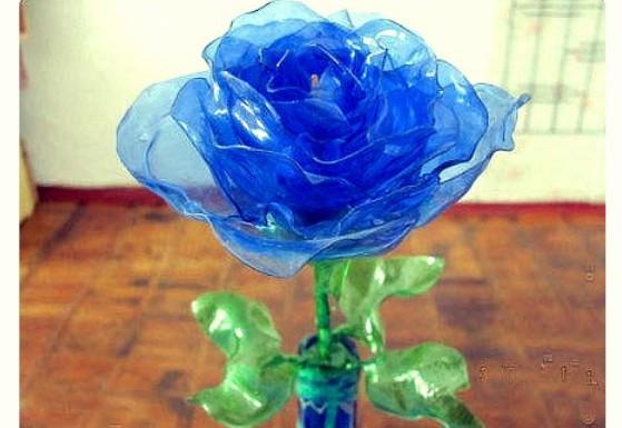 塑料瓶玫瑰花