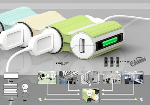 便携式热电转换充电器