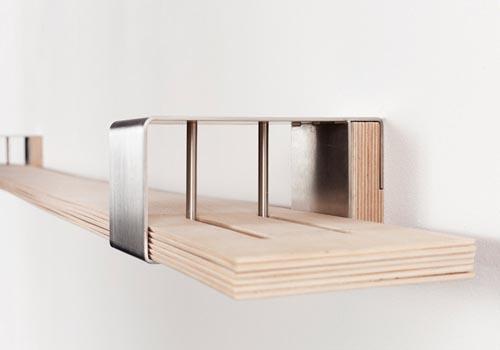 木条弹性书架 随心所欲换造型