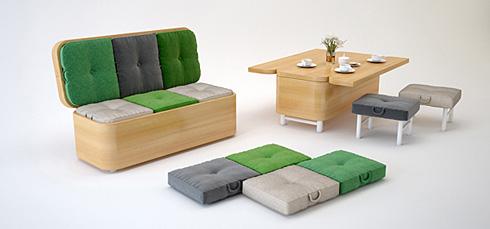创意变形家具 满足更多需求
