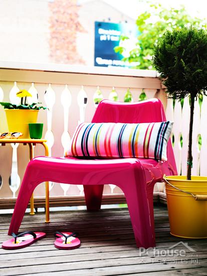 阳台巧利用 4个tips拥有休闲好地方