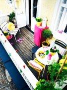 阳台巧装饰 4个tips拥有休闲好地方