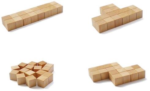 有意思的活动方块垫子