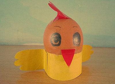 鸡蛋壳手工制作