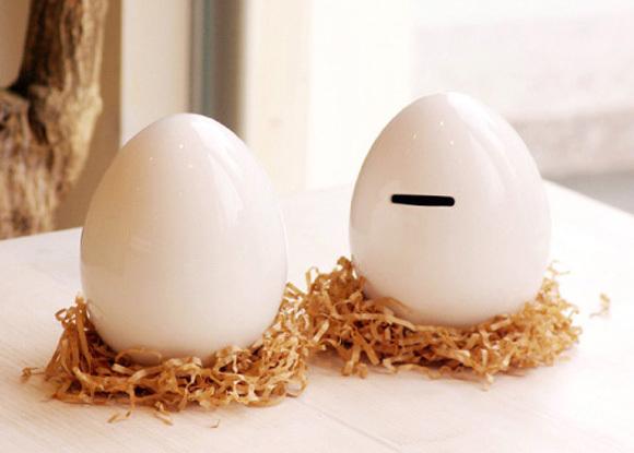 鸡蛋存钱罐
