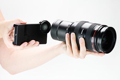 iPhone 单反相机