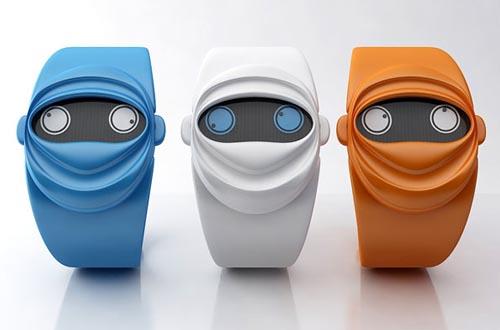 创意忍者腕表:Ninja Time Watch