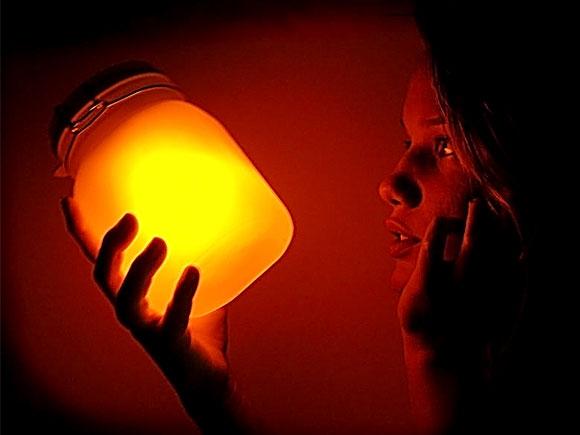 情侣创意礼物之sunjar收集阳光的罐子
